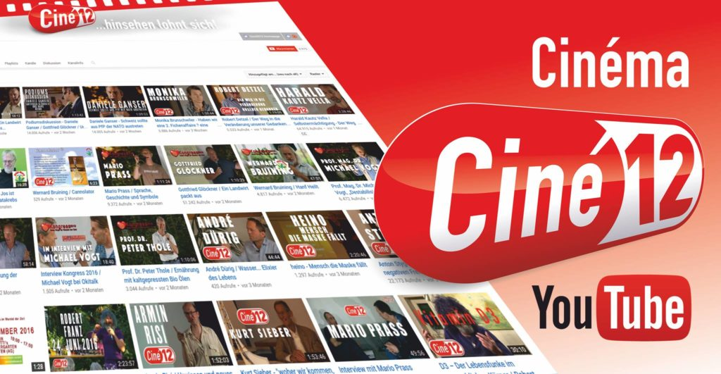Ciné12 YouTube Kanal Bild